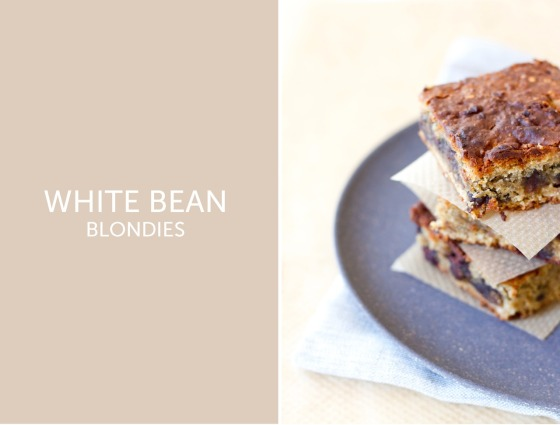 White bean blondies