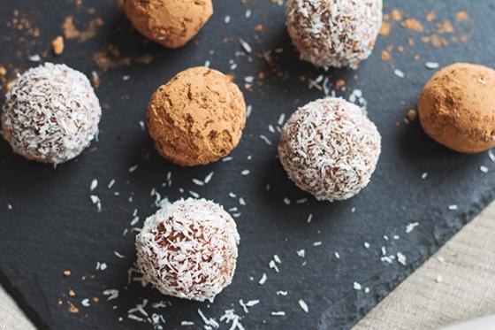 Chestnut Chocolate Truffles | Fig & Honey