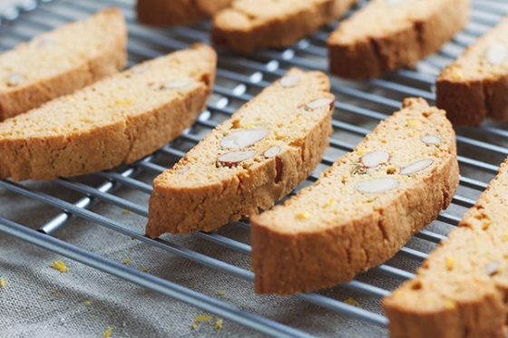 Lemon Curd & Almond Biscotti | Fig & Honey