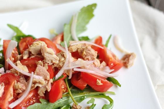 Tomato and Tuna Salad