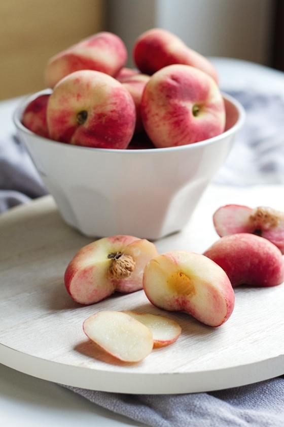 Wild Peach & Honey Tart   Fig & Honey
