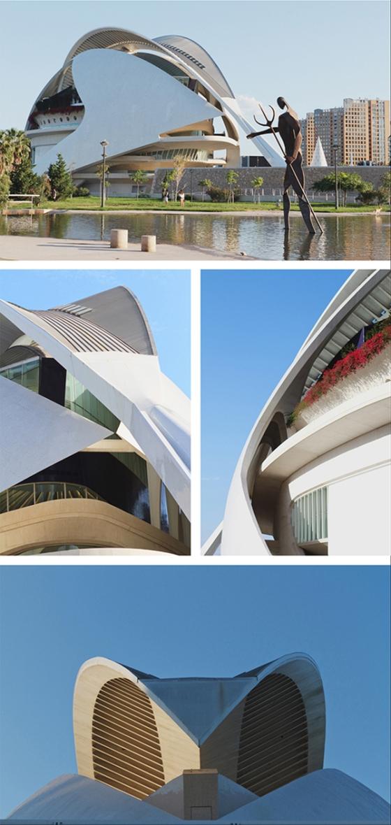 Valencia Santiago Calatrava