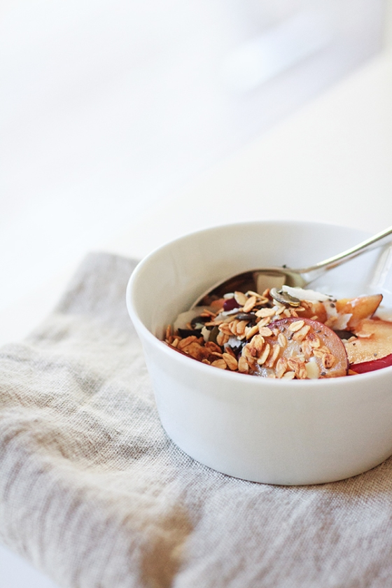 Date, Coconut, & Almond Oat Granola | Fig & Honey