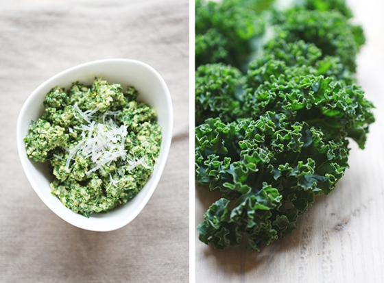Kale and Walnut Pesto | Fig & Honey