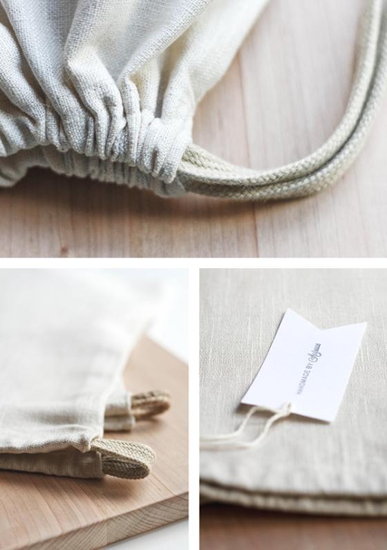 Linen Travel Bags   Fig & Honey