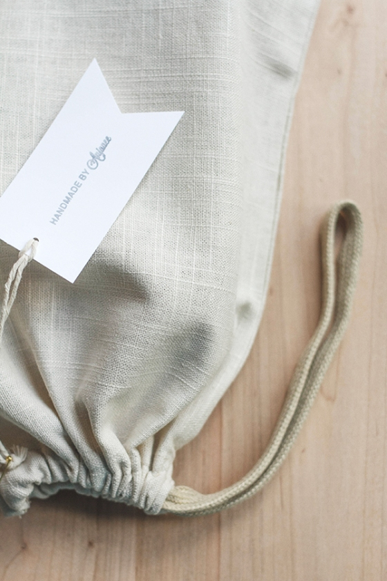 Linen Travel Bags | Fig & Honey